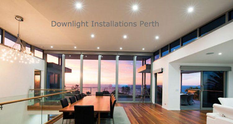 Downlight Installations Perth